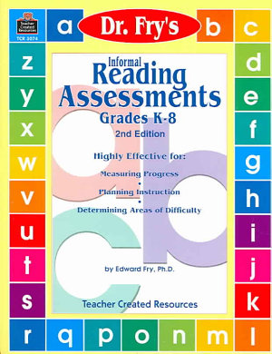 Informal Reading Assessments by Dr  Fry