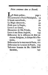 Bagatelles morales et dissertations: Avec le Testament littéraire