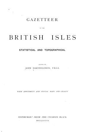 Gazetteer of the British Isles PDF