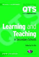 Learning and Teaching in Secondary Schools PDF