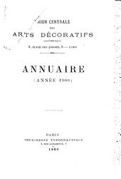 Annuaire - Union centrale des arts décoratifs: Palais du Louvre, Pavillon de Marsan