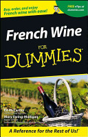 French Wine For Dummies Book