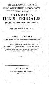Principia iuris feudalis