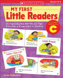 25 Reproducible Mini books That Give Kids A Great Start In Reading Book