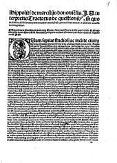 Tractatus de quaestionibus