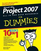 Microsoft Office Project 2007 All in One Desk Reference For Dummies PDF