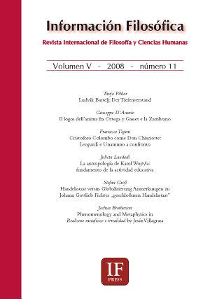 Informaci  n filos  fica  revista internacional de filosof  a y ciencias humanas  n  11  2008  PDF