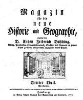 Magazin für die neue Historie und Geographie: Band 3