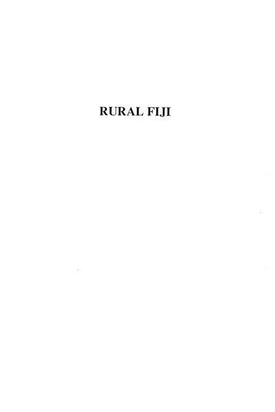 Rural Fiji