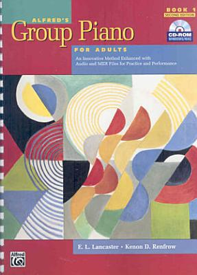 Alfred's Group Piano for Adults Student Book 1