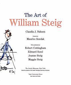 The Art of William Steig PDF