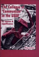 The Collapse of Communism in the USSR PDF