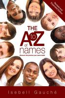 The A to Z of Names  Revised and Expanded Edition  PDF