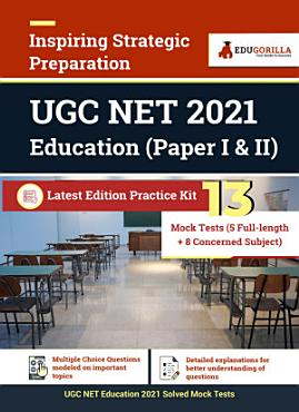 UGC NET Education 2021   13 Mock Test  5 Full length   8 Concerned Subject  PDF