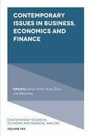 Contemporary Issues in Business  Economics and Finance PDF