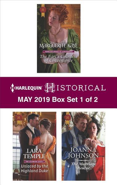 Harlequin Historical May 2019 - Box Set 1 of 2