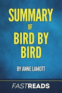 Summary of Bird by Bird