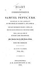 Diary and Correspondence of Samuel Pepys     PDF