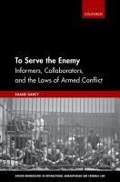 To Serve the Enemy PDF
