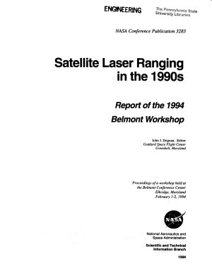 Satellite Laser Ranging in the 1990s