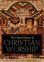 The Oxford History of Christian Worship PDF