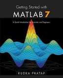 Getting Started with MATLAB 7 PDF