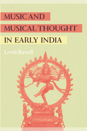 Music and Musical Thought in Early India PDF