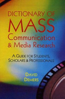 Dictionary of Mass Communication and Media Research PDF
