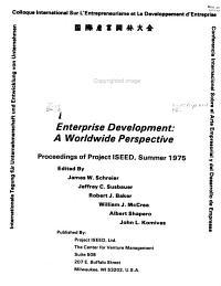 Entrepreneurship and Enterprise Development PDF