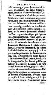 De successionibus ad leges Ebraeorum in bona defunctorum, liber singularis: in pontificatum libri duo