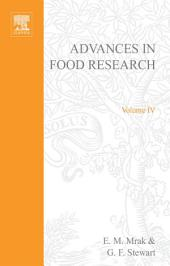 Advances in Food Research: Volume 4