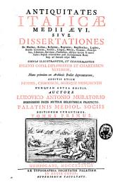 Antiquitates italicae medii aevi: Volume 1