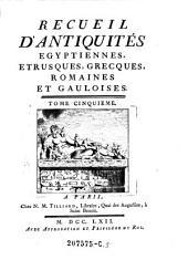 Recueil D'Antiquites