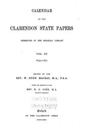 1649-1657, ed. by the Rev. W. Dunn Macray. 1869-76: 1649-1657