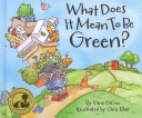 What Does It Mean to Be Green