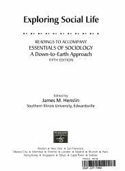 Exploring Social Life PDF