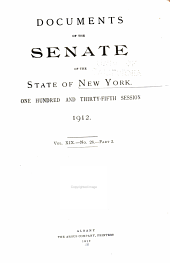 Documents of the Senate of the State of New York: Volume 19