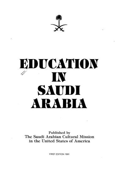 Education in Saudi Arabia PDF