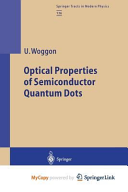 Optical Properties of Semiconductor Quantum Dots PDF