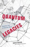 Quantum Legacies PDF