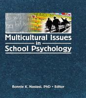 Multicultural Issues in School Psychology PDF