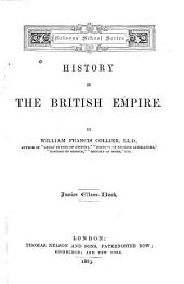 History of the British Empire: Junior Classbook