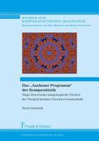 Das    Aachener Programm    der Komparatistik PDF
