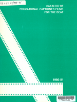Catalog of Educational Captioned Films for the Deaf