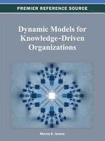 Dynamic Models for Knowledge Driven Organizations PDF