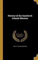 HIST OF THE SANDWICH ISLANDS M PDF