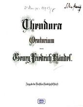 Georg Friedrich Händel's Werke: Theodora : Oratorium. 8