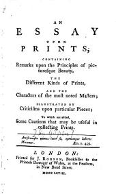 An Essay Upon Prints