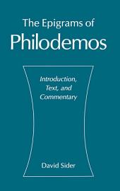 The Epigrams of Philodemos: Introduction, Text, and Commentary
