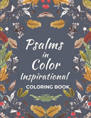 Psalms in Color Inspirational Coloring Book